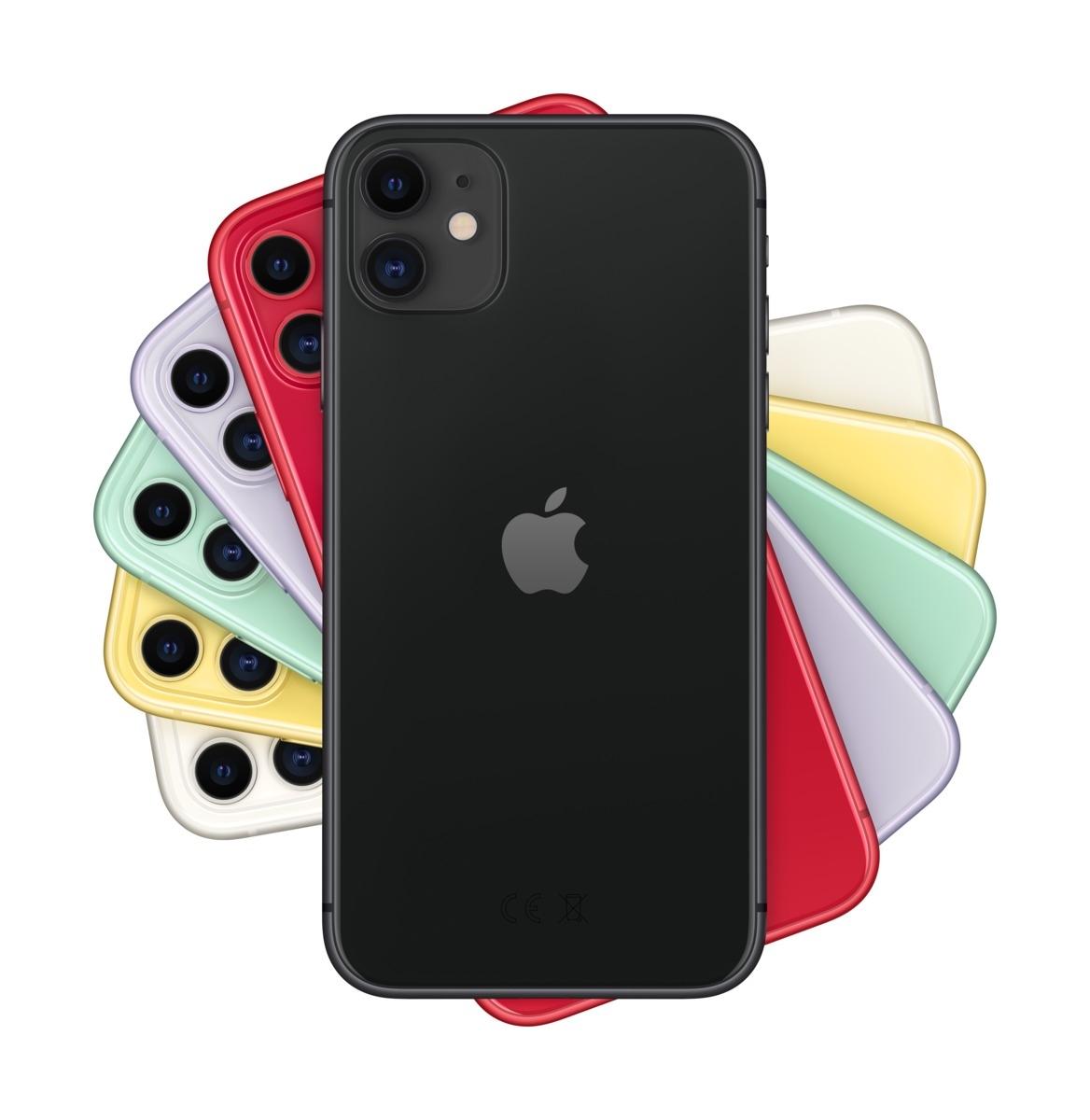 Apple iPhone 11 128 GB Schwarz MWM02ZD/A
