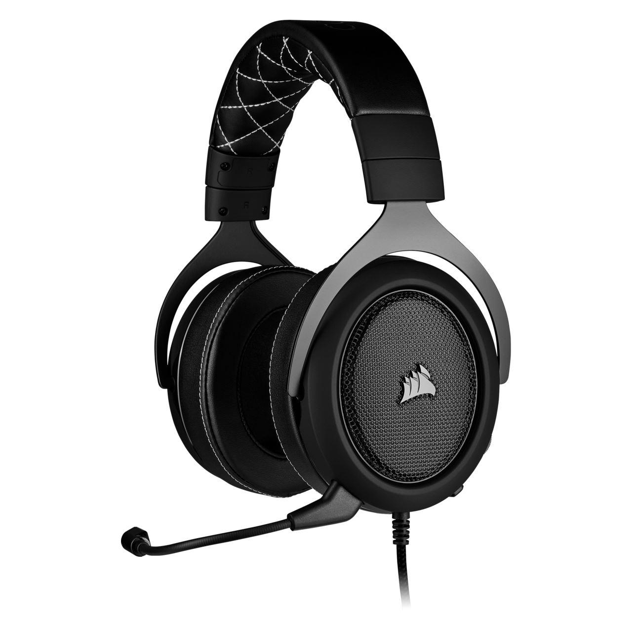 Corsair HS60 Pro Gaming Headset Schwarz Kabelgebunden Kopfhörer Stereo Virtual Surround