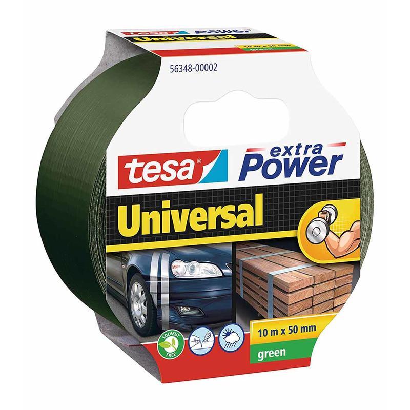 tesa Gewebeband 50mm extra Power Universal Grün 10m