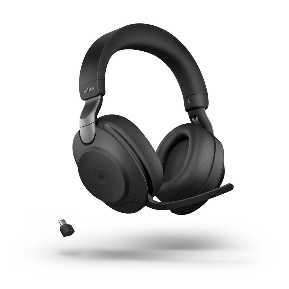 Jabra Evolve2 85 Headset Schwarz Kopfbügelhörer Stereo Rauschunterdrückung