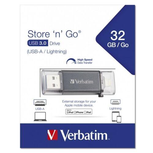 Verbatim Lightning USB Stick 3.0 - Auswahl: 32GB