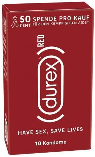 Durex Kondome 10er Classic Red