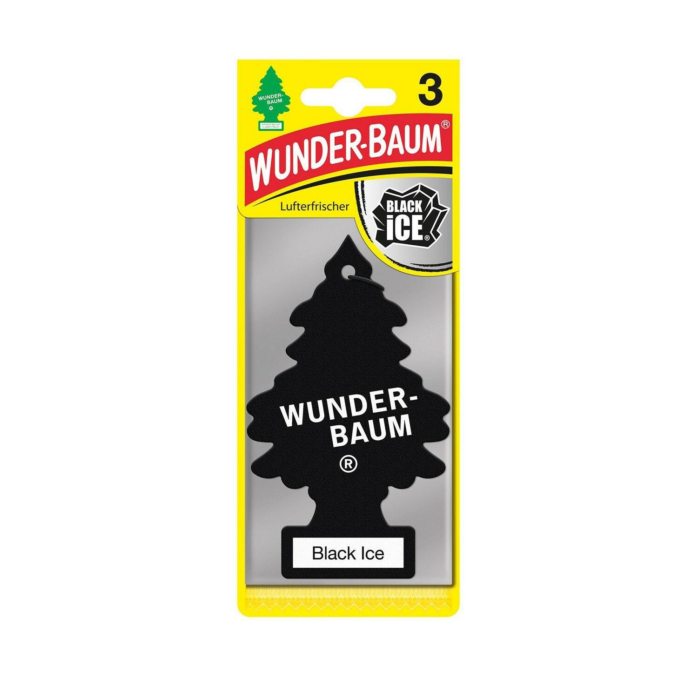 Wunderbaum Lufterfrischer Baum - Duft: Black Ice