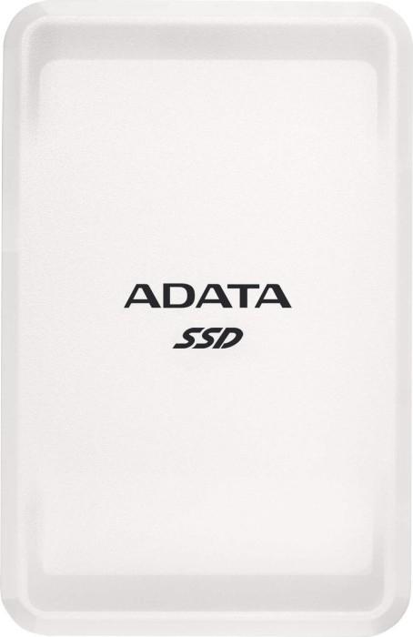 ADATA SC685 SSD weiß 250GB USB-C 3.1 ASC685-250GU32G2-CWH