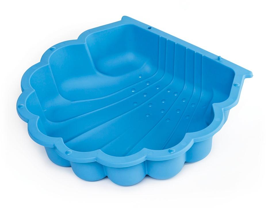 Paradiso Toys sandkasten mit Abdeckplane 87 x 78 cm blau