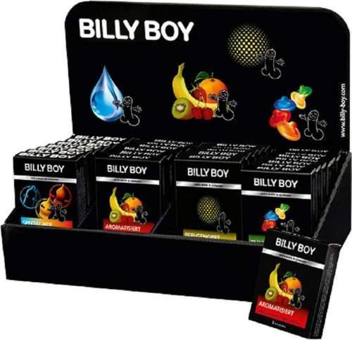 Billy Boy Kondome Bunte Vielfalt+Perlengepoopt+Aromatisiert+Special Mix Tray mit 28 x 3er Pack sortiert Display