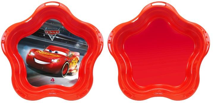 Disney sandkasten CarsJungen 95 x 20 cm rot 2-teilig