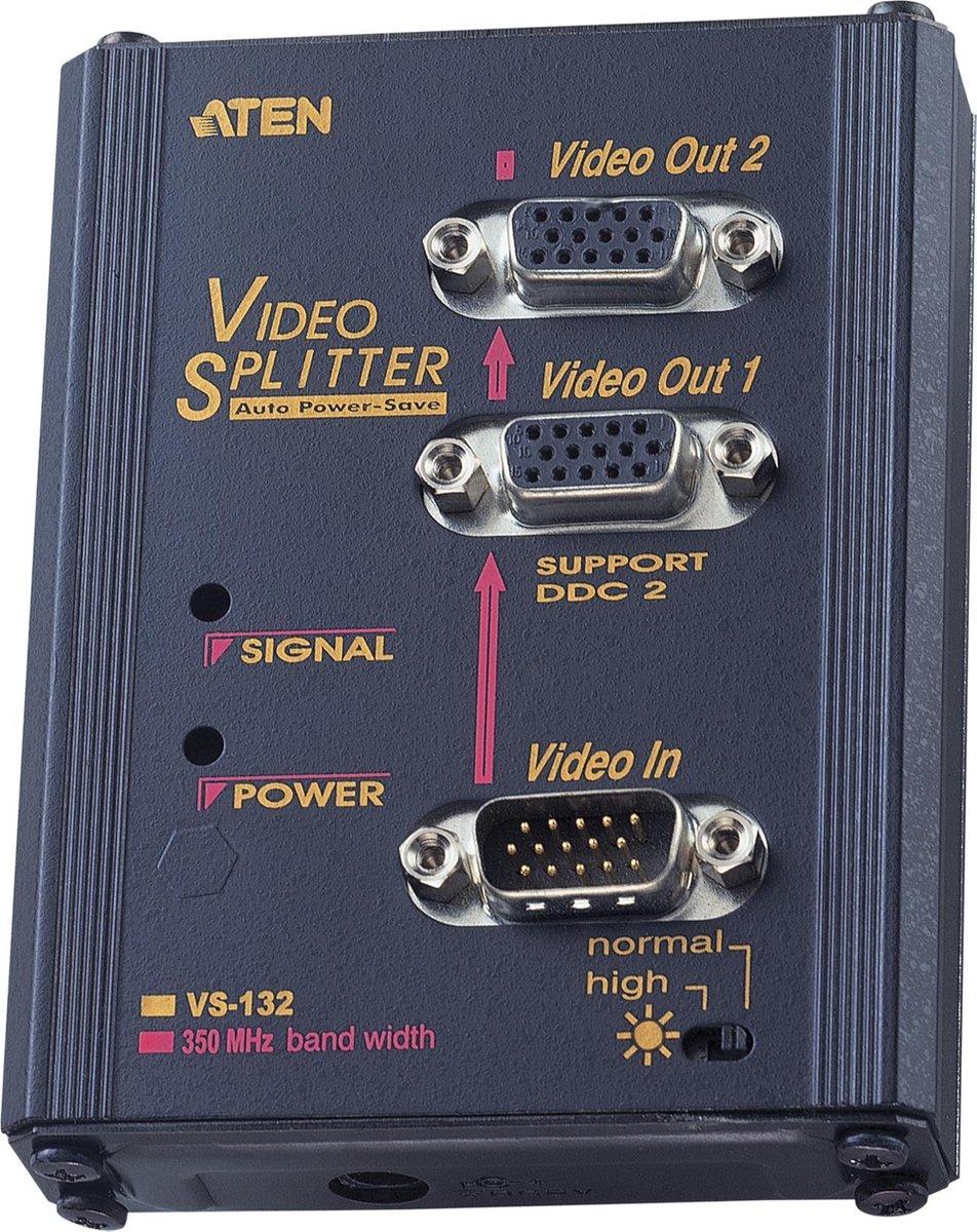 VideoSplitter 2-Port VS-132, Video-Splitter