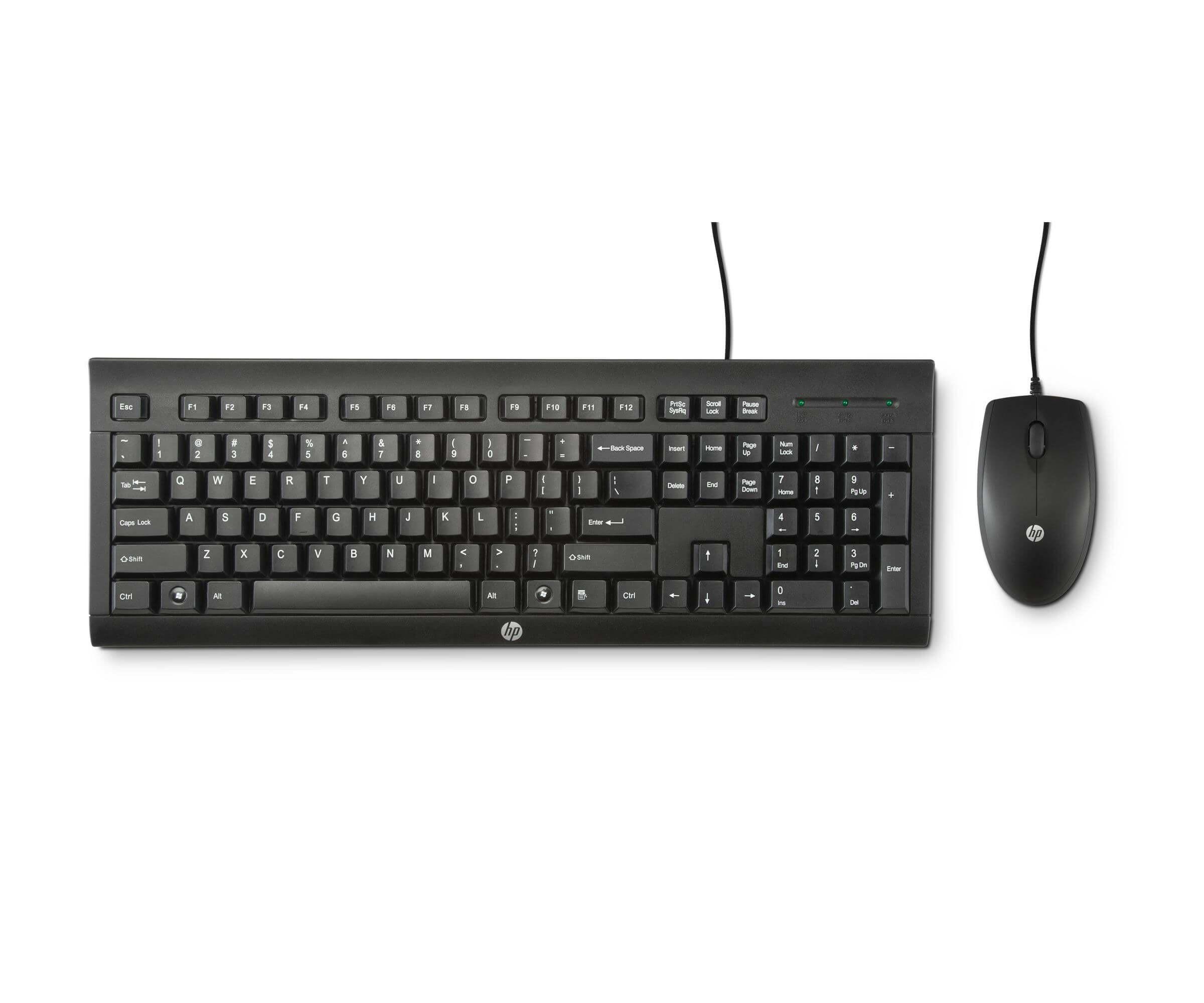 HP C2500, Desktop-Set schwarz