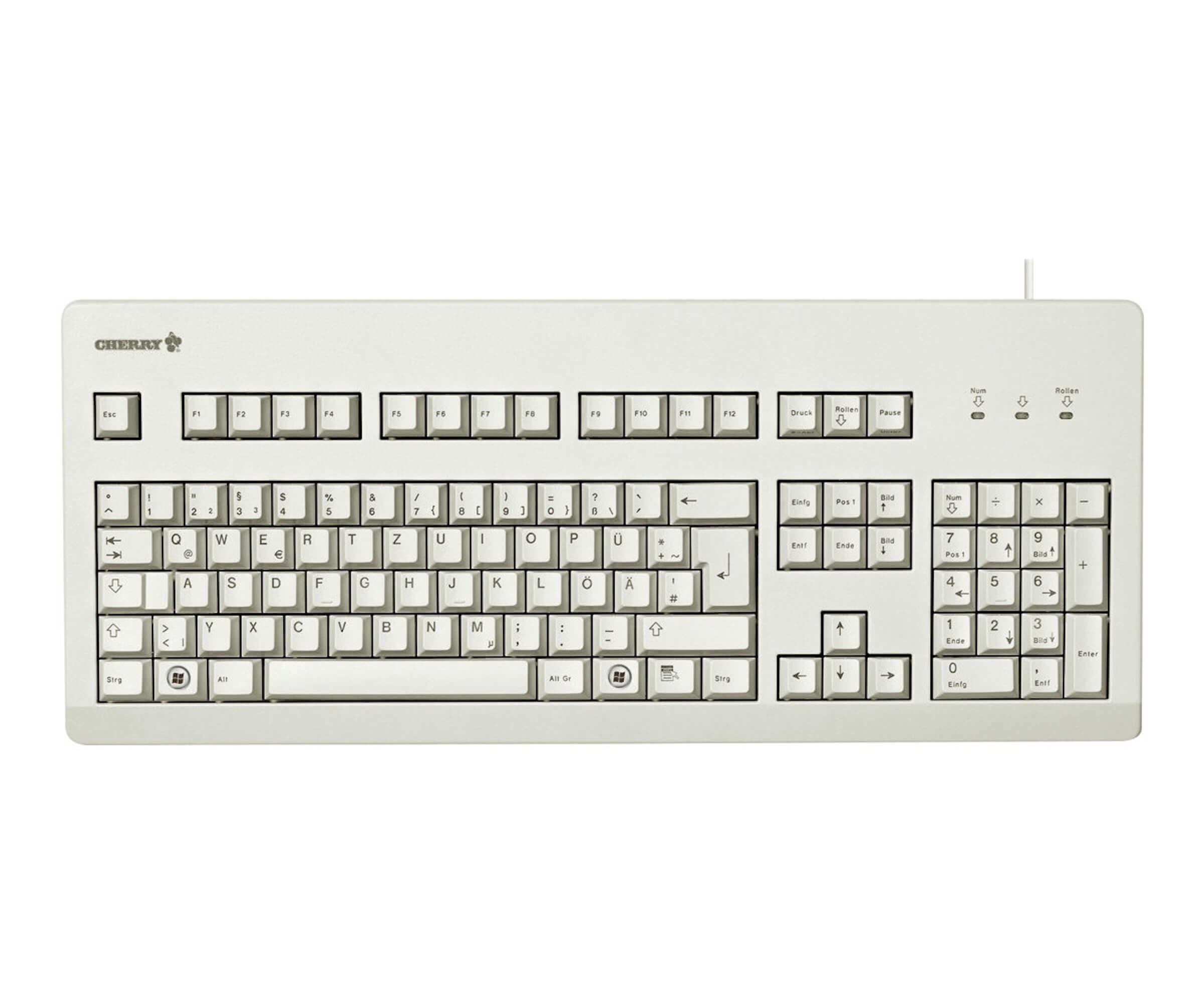 CHERRY Tastatur - Modell: Cherry Comfort Line G80-3000 Beige