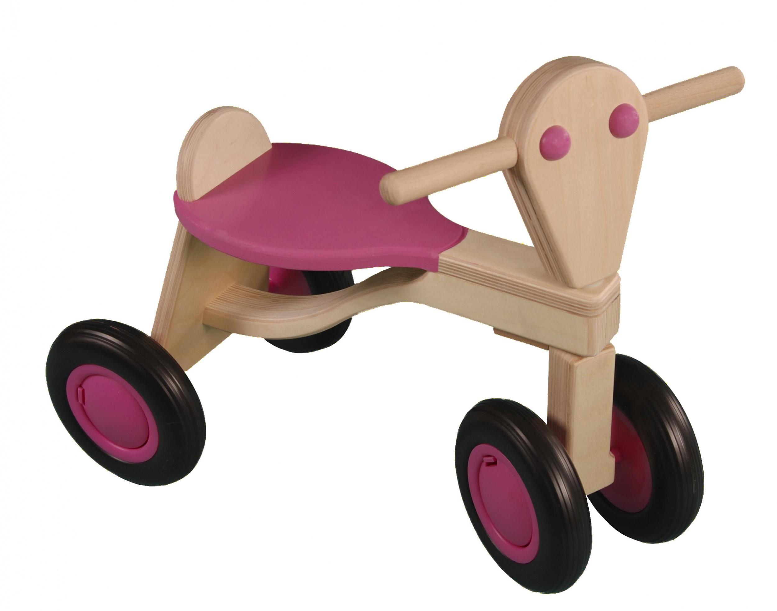 Van Dijk Toys loopfiets Berken Junior Rosa