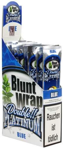 Blunt Wrap Double Platinum im 2er Pack, Blue (Blueberry Burst)