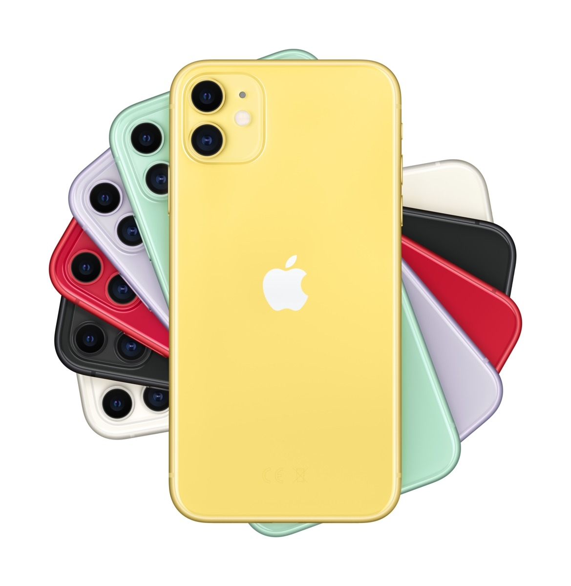 Apple iPhone 11 256 GB Gelb MWMA2ZD/A