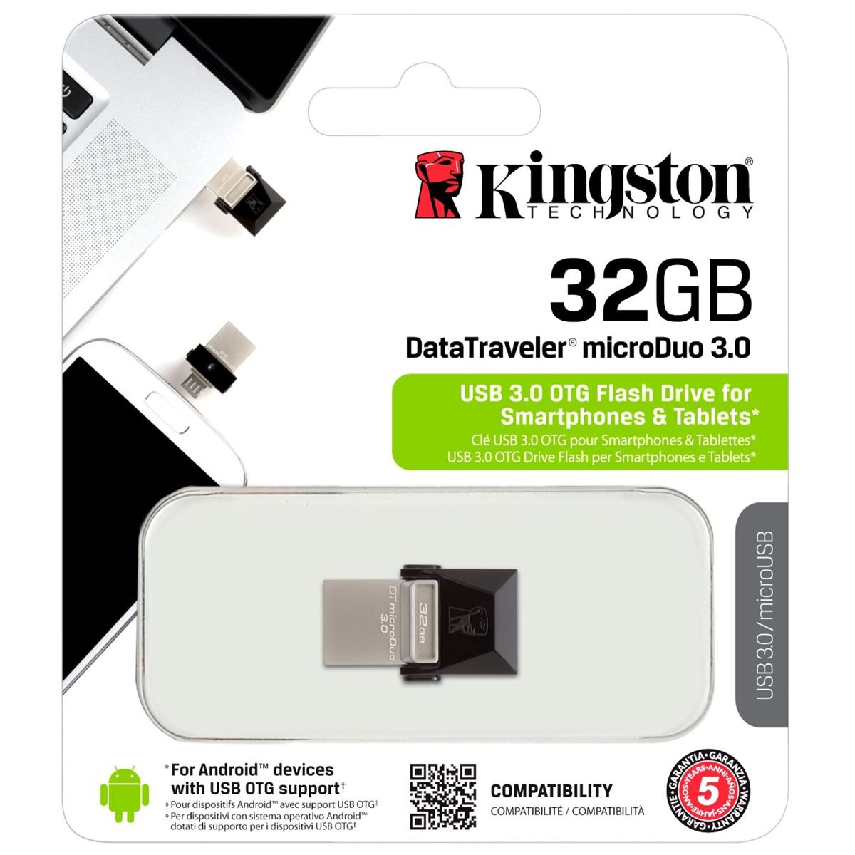 DataTraveler microDuo 32 GB, USB-Stick