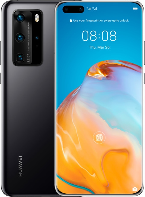 Huawei P40 Pro 5G 256GB midnight-black 51095EYG