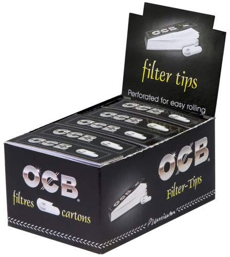 OCB Filter Tips, 25 Filter Tips je Heftchen, 25 Heftchen in Display