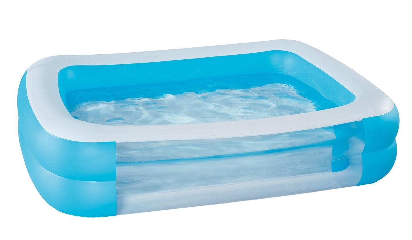 Pool Aufblasbar Sommerpool Becken  - Auswahl: Becken Wehncke Family200 x 150 x 50 cm