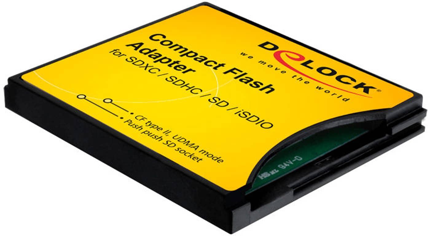 Compact Flash Adapter für SD / MMC, Kartenleser