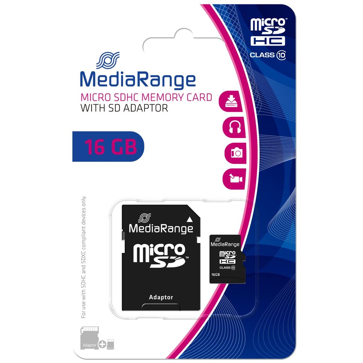 16 GB microSDHC, Speicherkarte