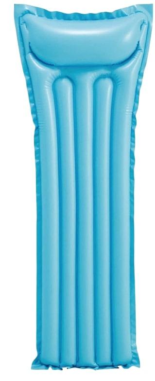 Aufblasbare Luftmatratze Matratze Schwimmliege Poolliege Stuhl Intex Bestway - Auswahl: Intex luftmatratze blau 183 x 69 cm