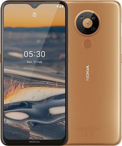 Nokia 5.3 Dual-SIM 4GB/64GB sand Android 10.0 Smartphone 6830AA003686