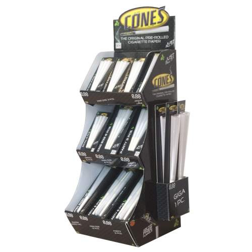 Cones Display Tower 66 tlg. 10-Varianten Cones-Blister(6x Cones 6er Blister SMALL