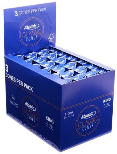 Cones 110mm Weiss 3 Cones Per Box 24 Boxen Pro Display