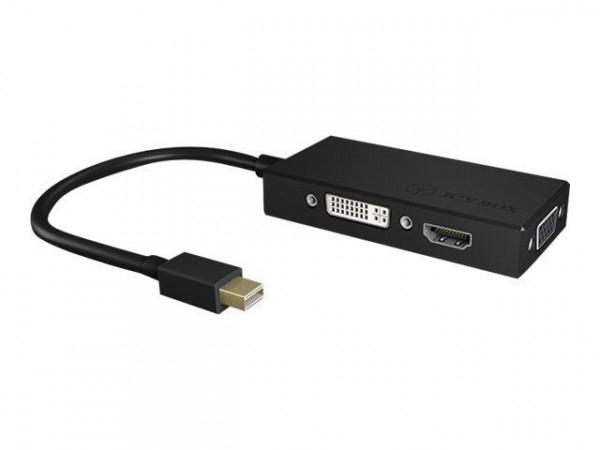 Adapter IB-AC1032 MiniDisplayPort > HDMI / DVI-D / VGA