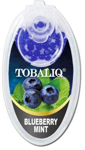 BLUEBERRY MINT Aromakapseln Tobaliq Packung mit 100 Kapseln für Zigaretten