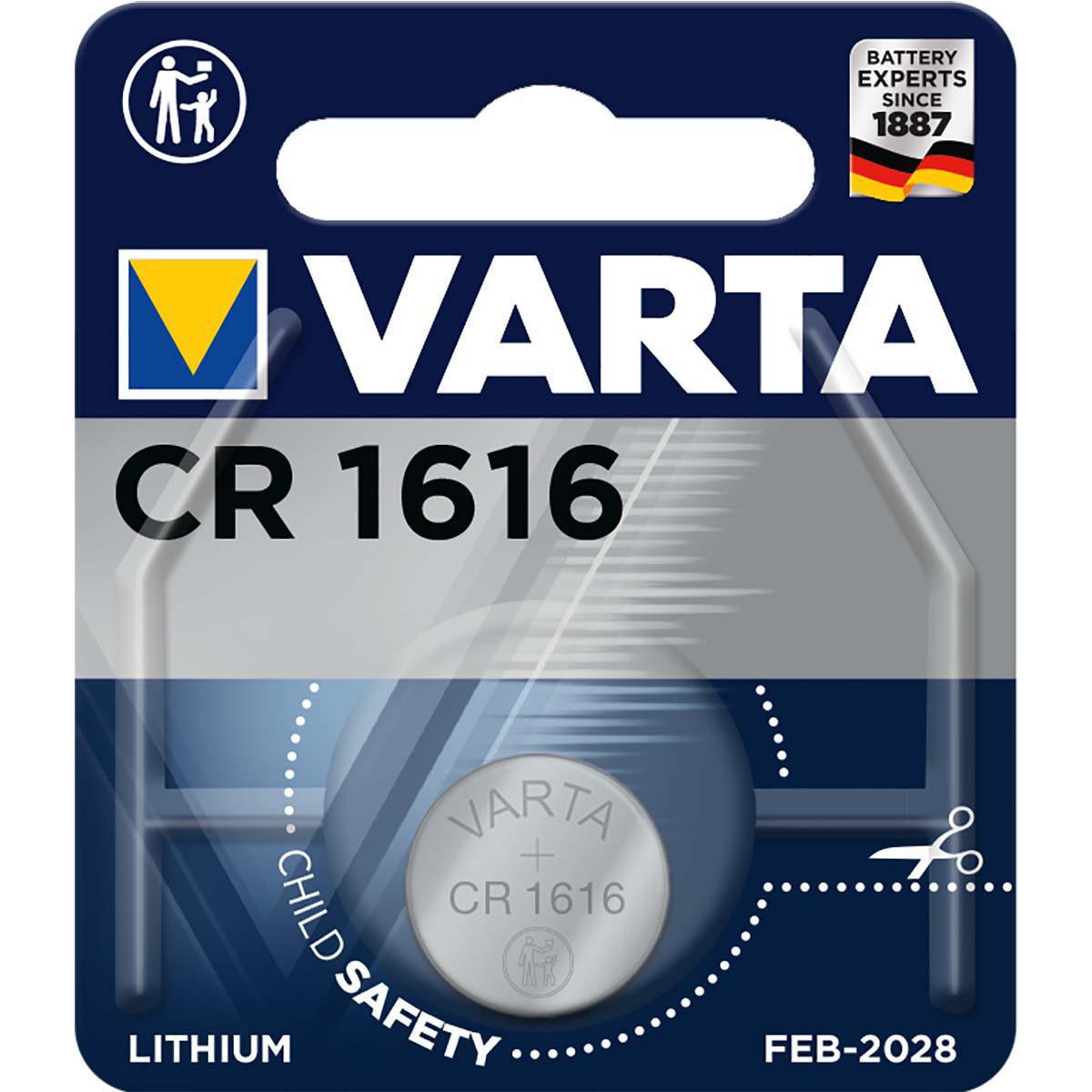 Varta Electronics, Retail Blister (1-Pack)