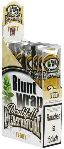 Blunt Wrap Double Platinum im 2er Pack, Ivory (French Vanilla)