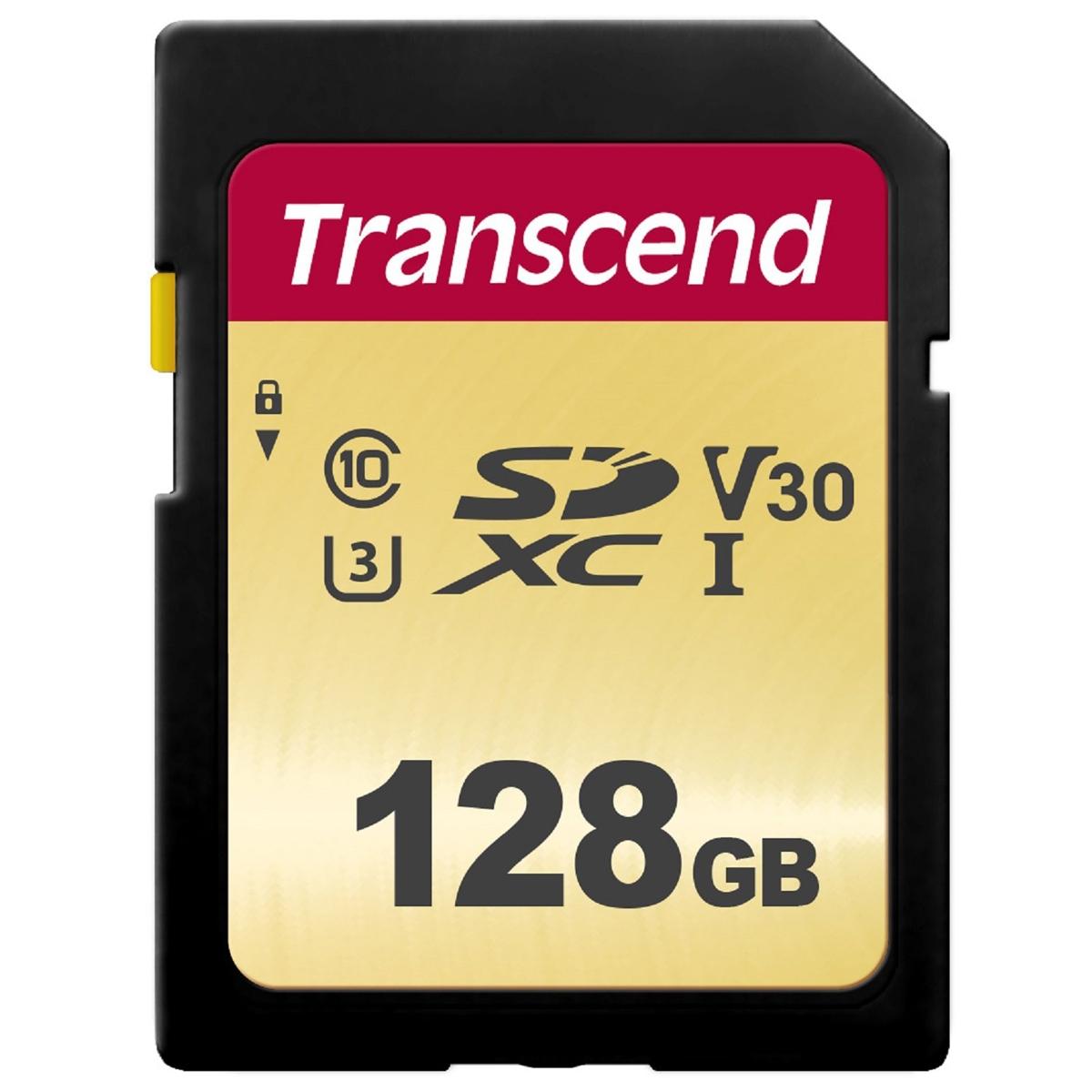 500S 128 GB SDXC, Speicherkarte