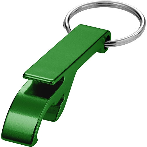 Toa Schlüsselanhänger mit Flaschen- und Dosenöffner grün