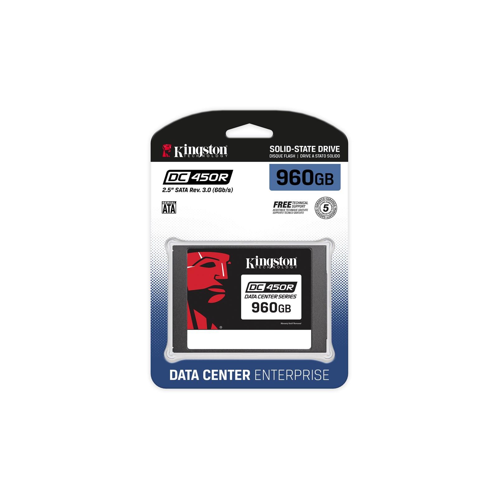 """Kingston DC450R Enterprise 960 GB SSD schwarz SATA 6Gb/s, 2,5"""""""