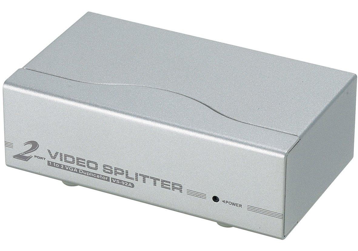 2-Port VGA Video-Splitter VS92A-AT-G