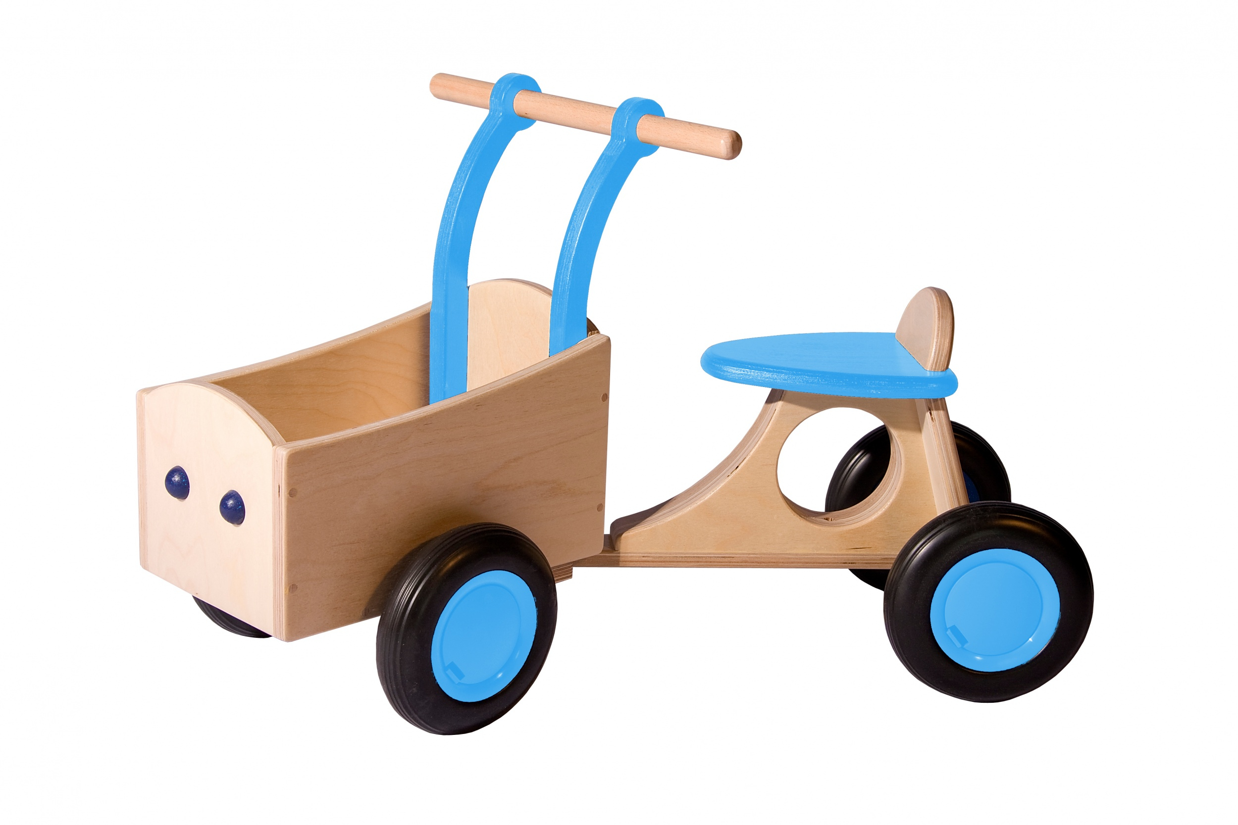 Van Dijk Toys loop-bakfiets Junior Hellblau