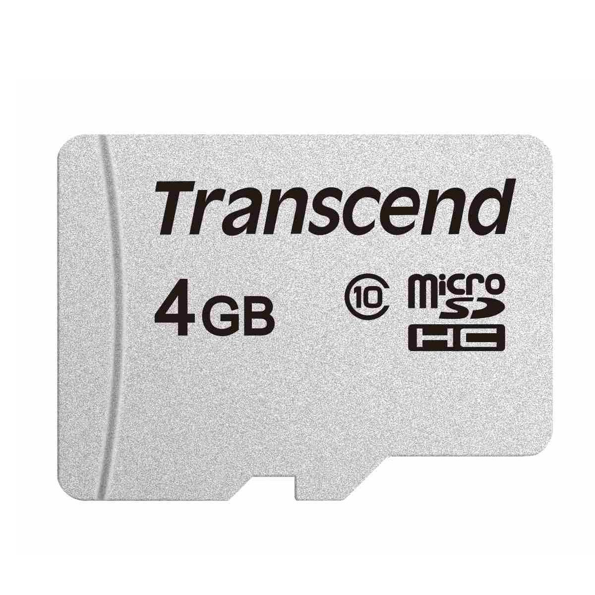 300S 4 GB microSD, Speicherkarte