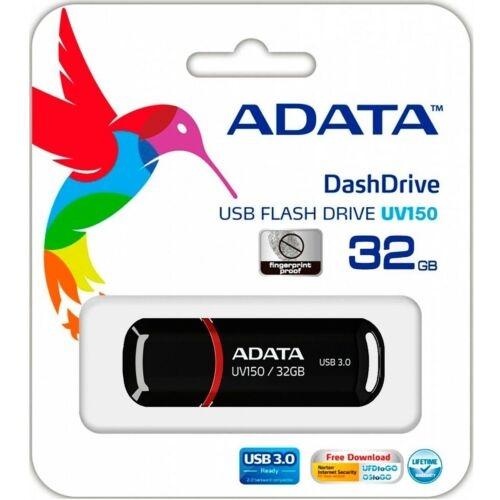 Adata DashDrive Value UV150 USB Stick 3.0 - Auswahl: 32GB Schwarz