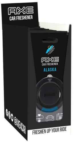 AXE 3D Alaska Air Freshener/Lufterfrischer 6er T-Dsp.
