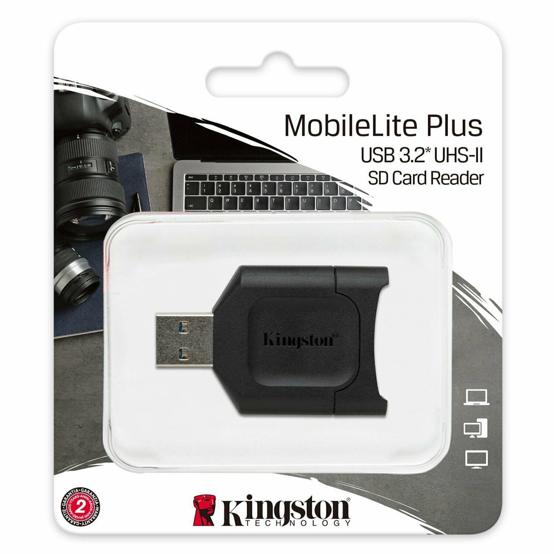 Kingston MobileLite Plus SD Kartenleser schwarz