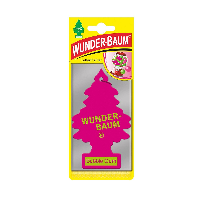 Wunderbaum Lufterfrischer Baum - Duft: Bubble Gum