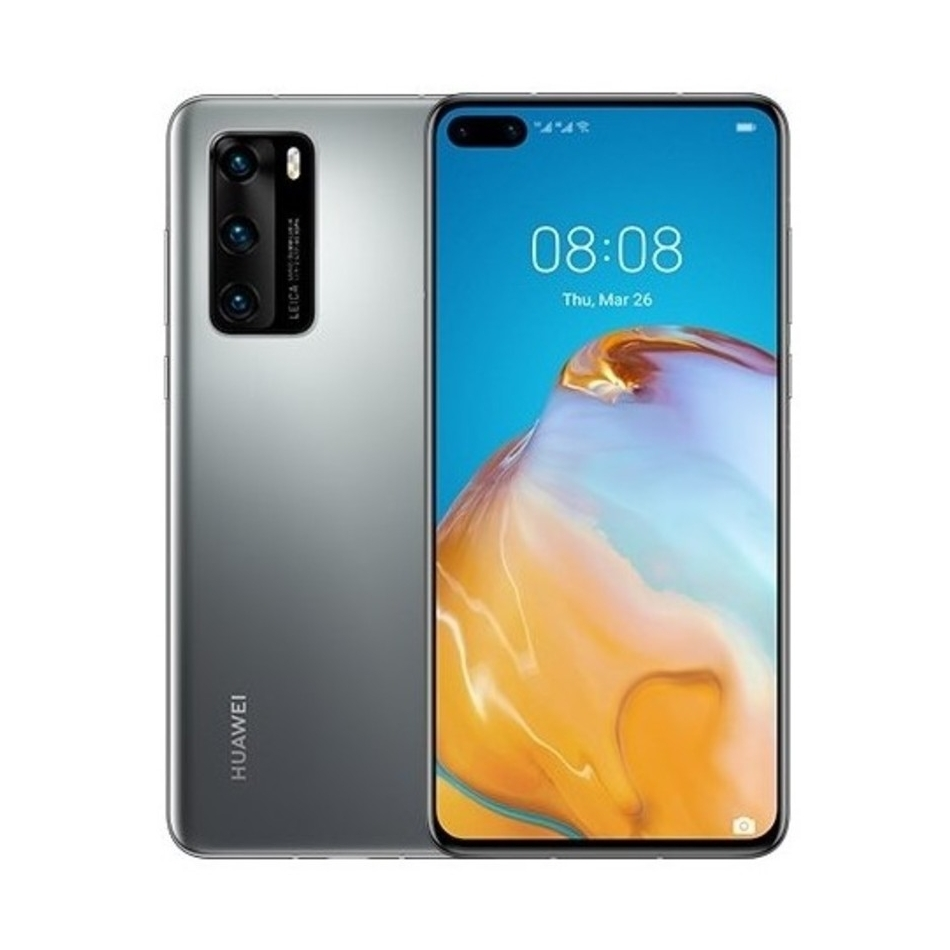 HUAWEI P40 Smartphone 128GB silver frost Dual-SIM Android 10.0 51095BYV