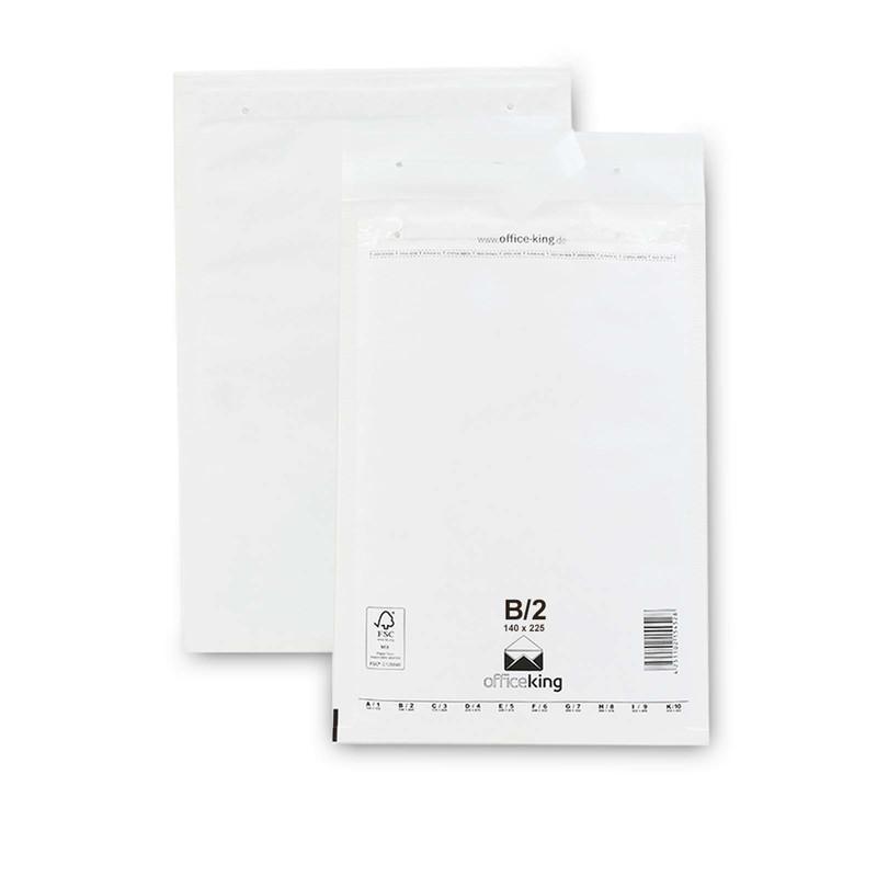 200 B2 Luftpolstertaschen Weiss 140 x 225 mm