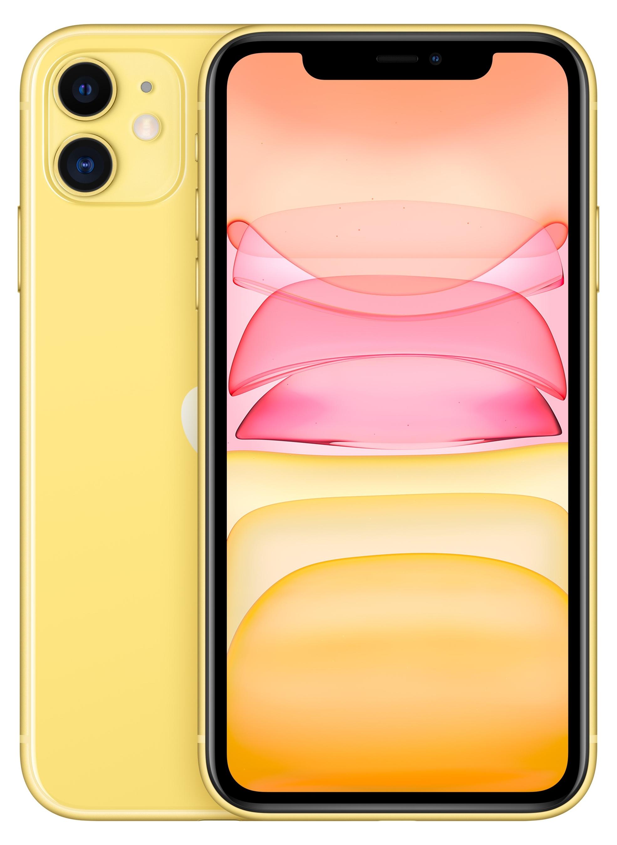 Apple iPhone 11 128 GB Gelb MWM42ZD/A