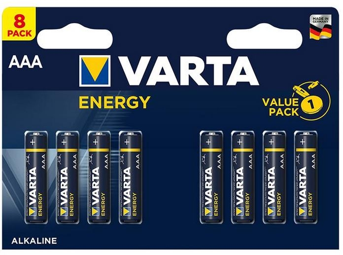 Varta Energy, Retail Blister (8-Pack)
