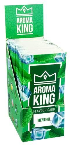 AROMA KING MENTHOL Flavouring Cartridge Aroma Card im 25er T-Box