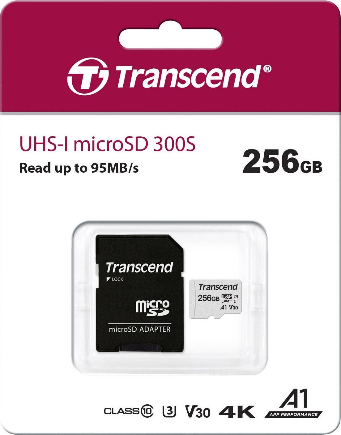300S 256 GB microSDXC, Speicherkarte