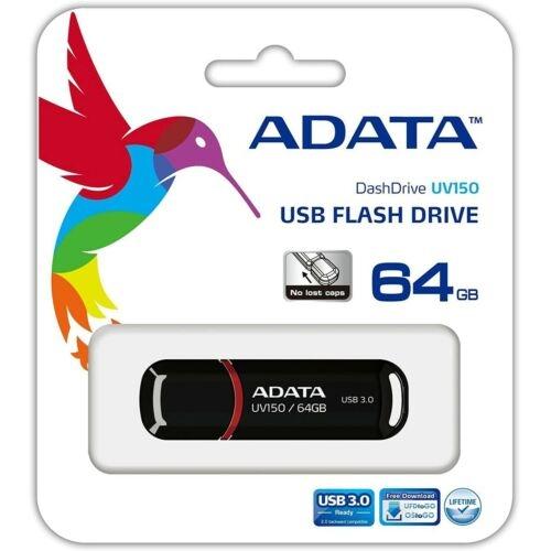 Adata DashDrive Value UV150 USB Stick 3.0 - Auswahl: 64GB Schwarz