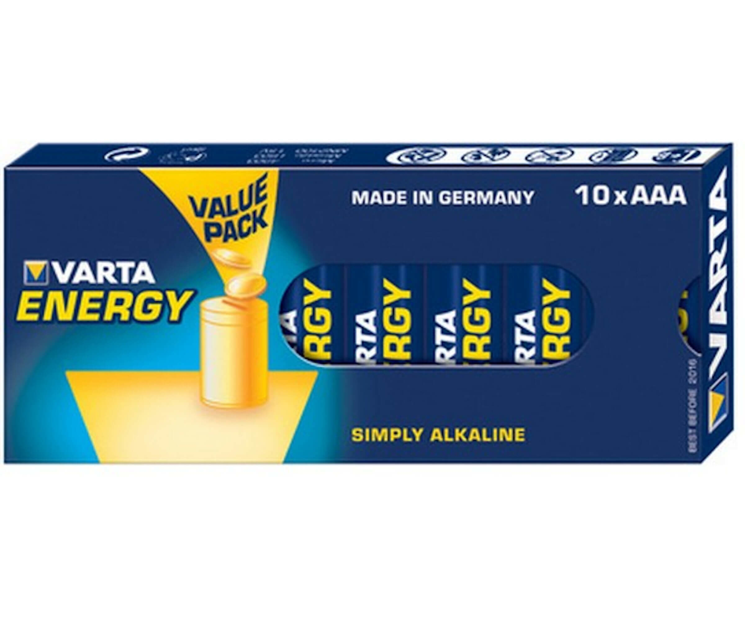 Varta Energy, Retail Box (10-Pack)