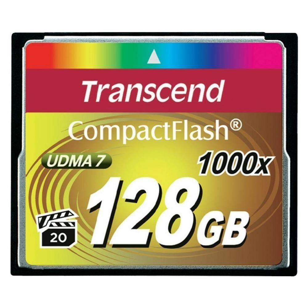CompactFlash Card 128 GB, Speicherkarte